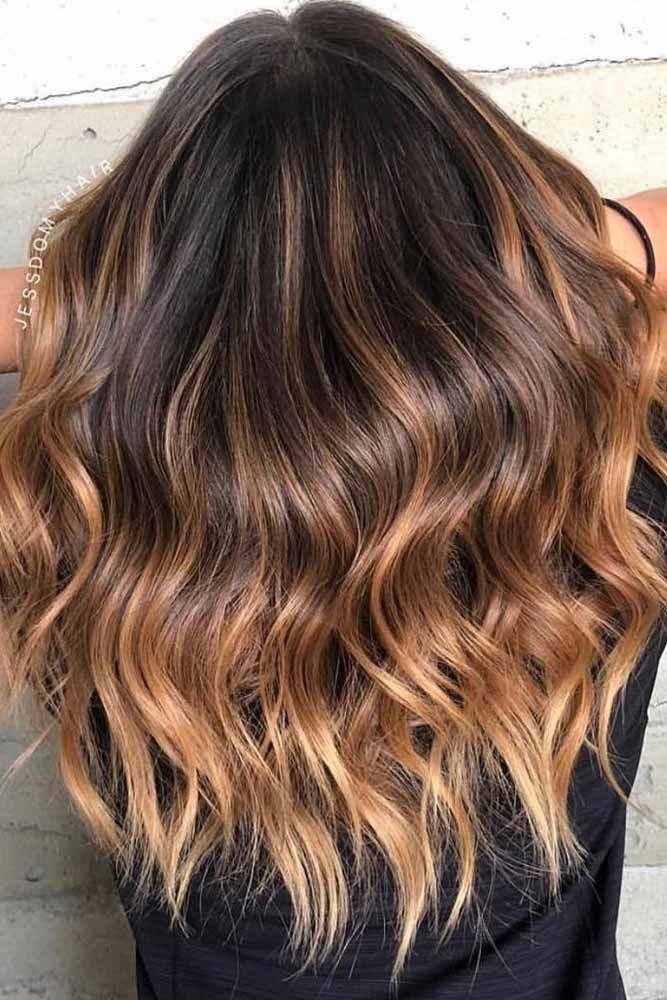 nouvelle tendance coiffures pour femme 2017 2018 style de cheveux ombre brun fonc. Black Bedroom Furniture Sets. Home Design Ideas