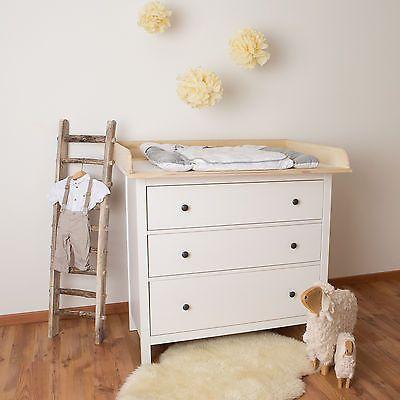 xxl h bois naturel plan langer en 108 cm pour tous les. Black Bedroom Furniture Sets. Home Design Ideas