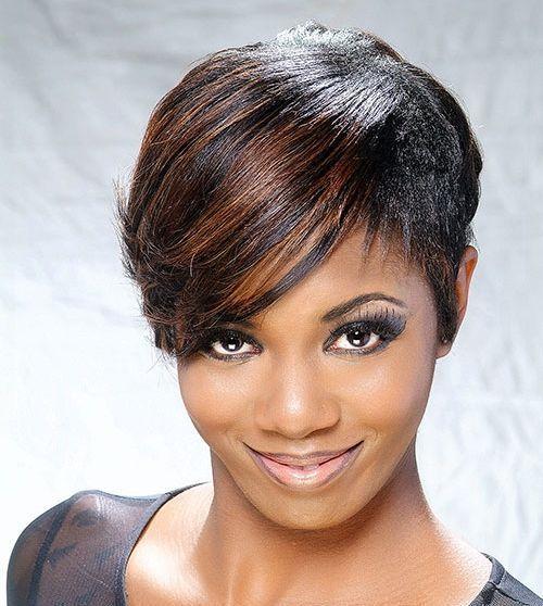 Coupe De Cheveux Court Afro Americaine Cheveux Naturels