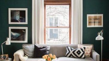 d co salon un mur de miroirs anciens dans le salon relookez votre salon comme sur pintere. Black Bedroom Furniture Sets. Home Design Ideas