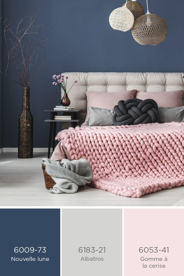 d233co salon peinture sico bleu fonc233 et rose p226le avec