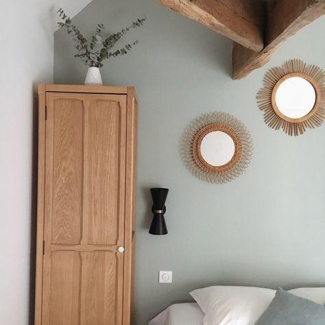 d co salon chambre vert de gris collection couture dulux. Black Bedroom Furniture Sets. Home Design Ideas