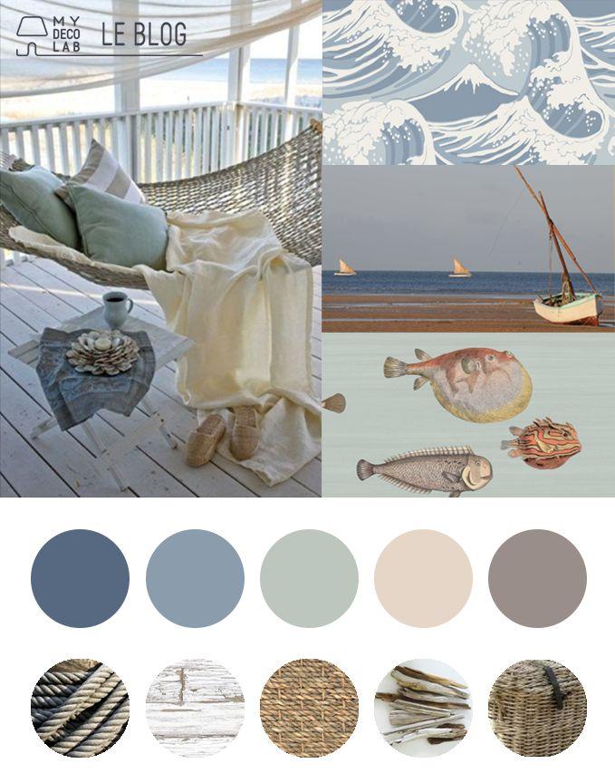 Déco Salon - inspiration décoration bord de mer ... - ListSpirit.com ...