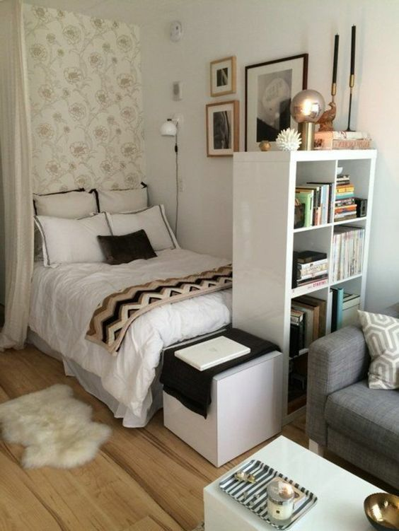 d co salon plan studio 20m2 d co studio tudiant salon chambre a coucher la fois. Black Bedroom Furniture Sets. Home Design Ideas