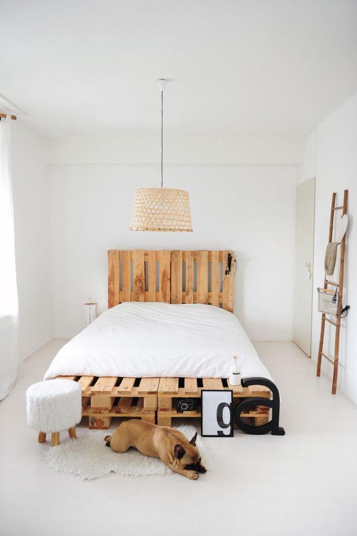 Idée Décoration Maison En Photos 2018 - déco récup chambre coucher ...