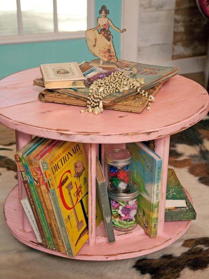 Description. Déco Récup Idée Table Basse DIY Recyclage Vieux Objets Inutiles