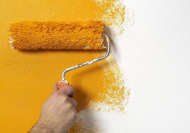id e d coration maison en photos 2018 peindre sur du papier peint peinture jaune soleil pour. Black Bedroom Furniture Sets. Home Design Ideas