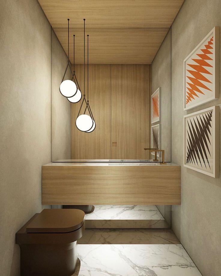 Idée décoration Salle de bain - Salle de bain bois et ...