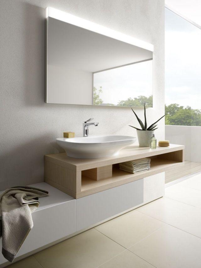 luminaire salle de bain miroir avec clairage intgr