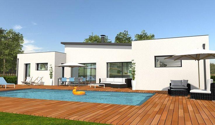 Cette Belle Maison T5 Contemporaine De Plain Pied De 132m2 Est