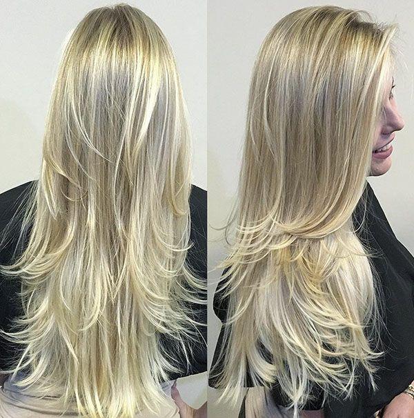 31 Longue Coiffure Blonde Listspirit Com Leading Inspiration