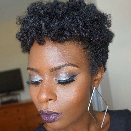 Coiffure Afro Femme 2018