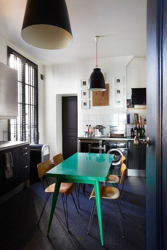 Deco Salon Decoration Vert Emeraude Listspirit Com Leading