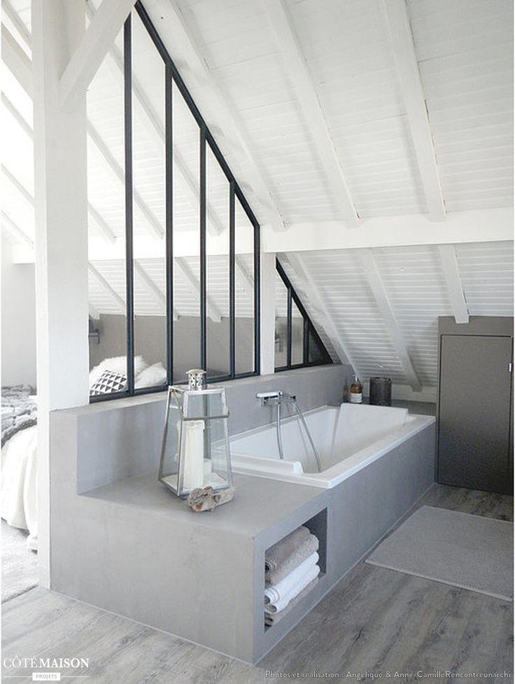 Idee Decoration Salle De Bain Renovation Complete D Une Suite