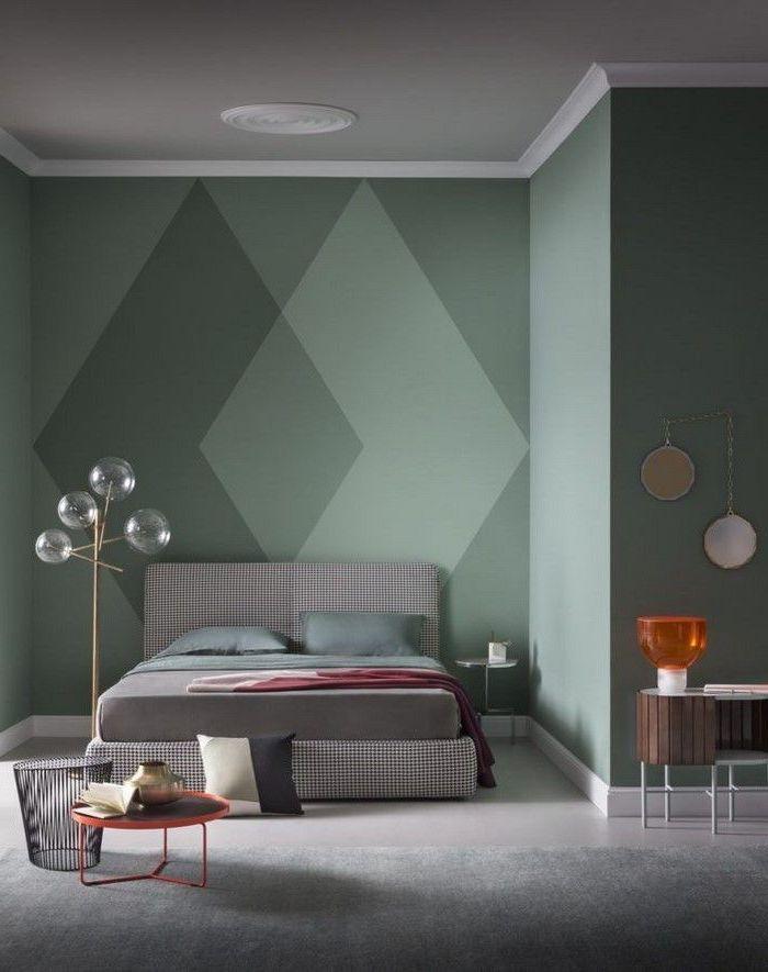 Déco Salon - Chambre bleu canard tendance couleur 2018 décoration ...