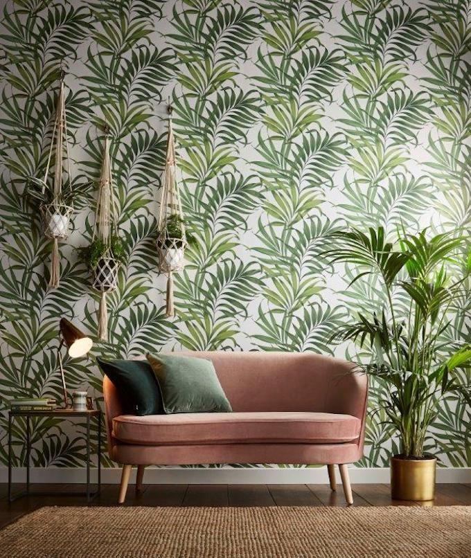 Decoration Nature Graham Brown Salon Tropical Papier Peint