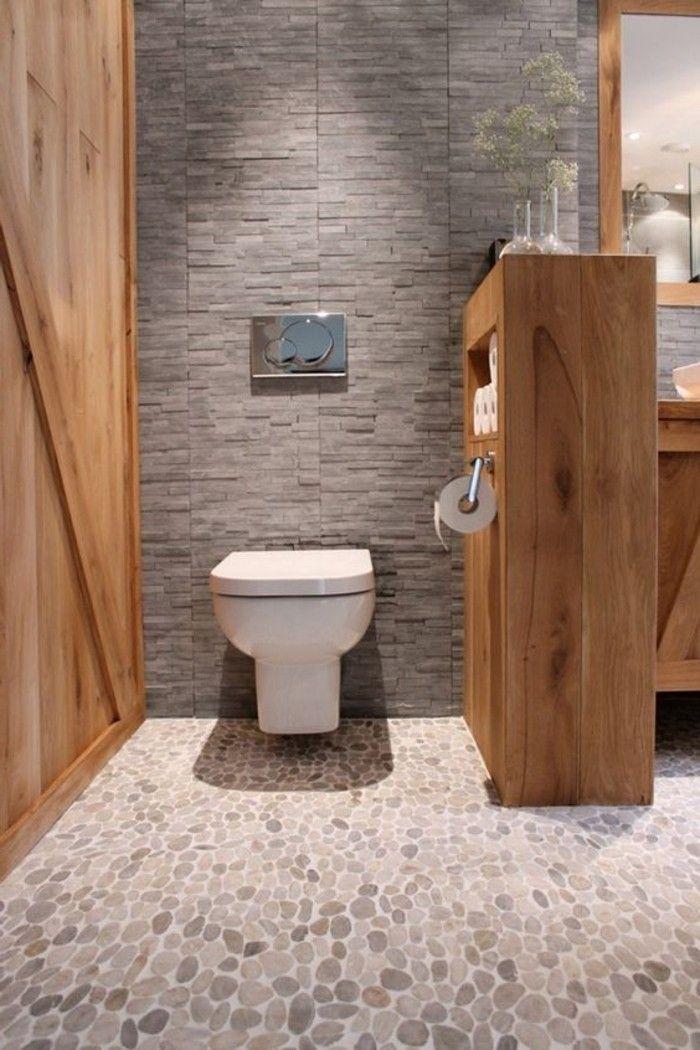 Idée décoration Salle de bain - salle de bain sol en ...