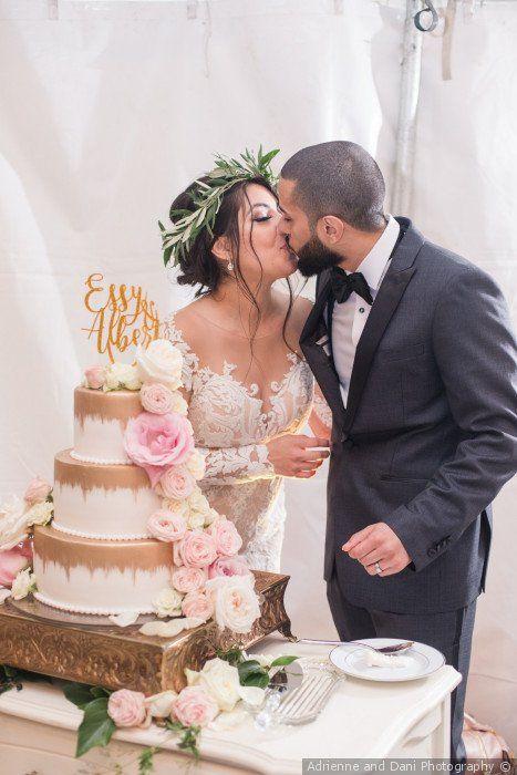 Pièce Montée 2017 Idée Gâteau De Mariage Glam Gâteau De
