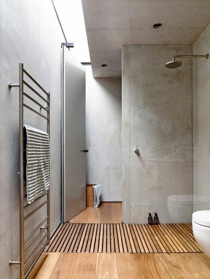 Idée décoration Salle de bain - jolie salle de bain de couleur taupe ...