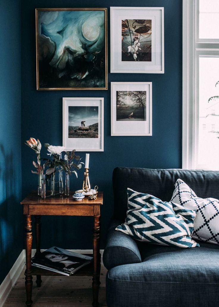 Deco Salon Deco Bleu Canard Salon Listspirit Com