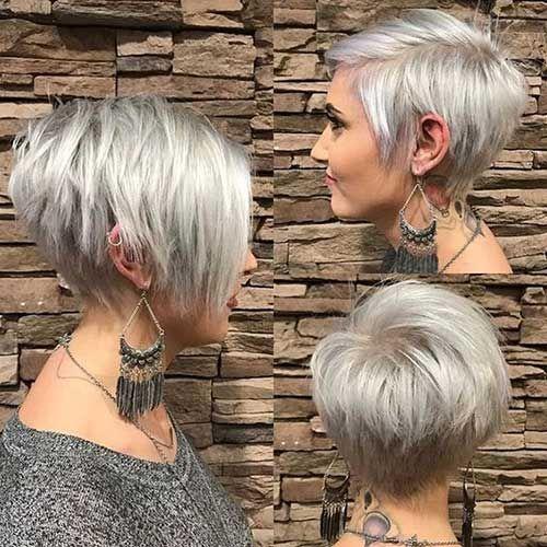 Coupe de cheveux femme degrade effile