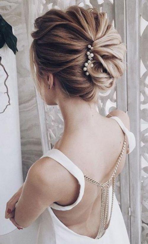 Coiffure De Mariage 2017 Coiffure Mariage Cheveux Mi Longs