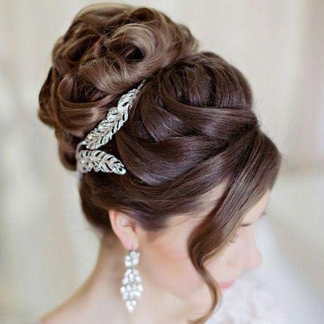 Coiffure de mariage 2017 - Chignon haut mariage 2018 - ListSpirit.com - Leading Inspiration ...