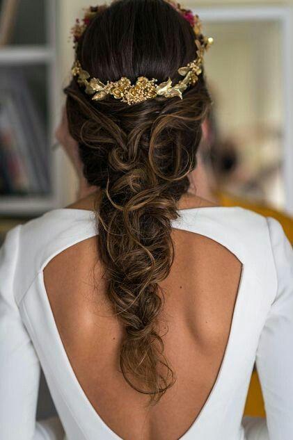 Bijou pour coiffure de mariage